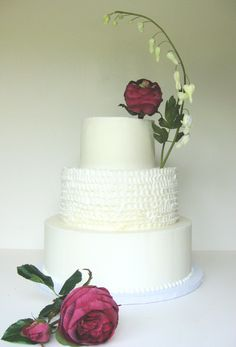 Wedding Cake, By Wendy DeBord