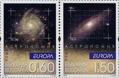 Bulgaria astronomy stamp  Date of issue 04-28-2009