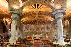 Gaudí's Heritage #coloniaGuell #gaudícrypt #barcelona #criptadeGaudí