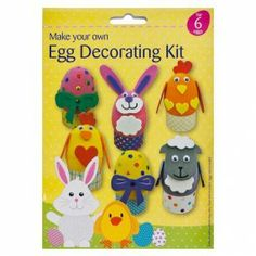 Make your own Easter decorations with our range of kids activity packs! Browse the range and pick your favourites!