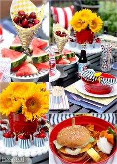 Host a Backyard Grilling Party with tips from @Courtney Baker Baker Baker Baker Baker Baker Whitmore {Pizzazzerie.com}