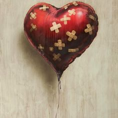 """Chris Martin Coldplay leader, has acquired for dollars """"Heart Ball"""", a unique piece of the famous Banksy profits of the Haitian charity Help Haiti Home. Banksy Paintings, Banksy, Graffiti, Painting On Wood, Painting, Art, Heart Art, Artsy, Prints"""