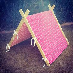 A-Frame Tent - Childrens Tent - Fold Up Play Tent - Photo Prop Tent - Childrens Christmas Gift Idea Crafts For Girls, Diy For Kids, Kid Crafts, Paper Crafts, Girls Tent, Childrens Tent, Childrens Christmas Gifts, A Frame Tent, Bed Frame