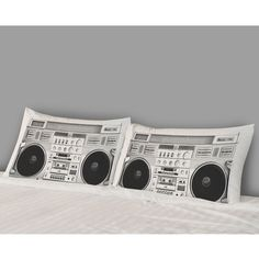 Boombox Pillow Covers.
