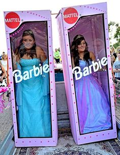 Real Barbie in a box