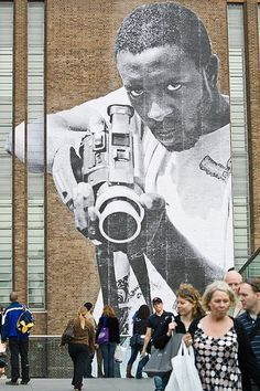 JR // London // Tate Modern