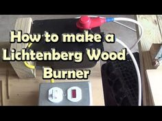 Wood burning with Lichtenberg figures - High voltage discharge tracks - YouTube