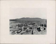 Málaga, vista desde el Gibralfaro. Fotografía — 1892