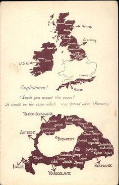 Irredenta | Képcsarnok | Hungaricana Old World Maps, Old Maps, Hungary History, Ww2 Propaganda Posters, Alternate History, Historical Maps, Meme Comics, Strange History, The More You Know