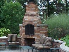 Outdoor Stone Fireplaces | OUTDOOR KITCHENS Kitchener Waterloo Cambridge Guelph fireplace BBQ ...
