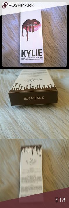Kylie lip kit dupe true brown k Purchased these off of another site believe them to be dupes. They are high quality dupes color is true brown k new never used Kylie Cosmetics Makeup Lipstick