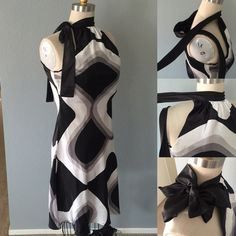 Final Price! Great for Valentines Chic dress Chic black, gray, white design dress, so beautiful and perfect flow for any event  brawlet under support top  See last picture , the top back had a pulled thread, I had to get super close to see it. see measurements as not all sizes are the same ✅bundle ✅ all reasonable offers will be considered  ✅No Trading  Poshmark rules only‼️Measurements taken laying flat Ⓜ️Chest 18 with a little stretch to it Ⓜ️Length from the neck down Ⓜ️Waist 17 Eyeshadow…