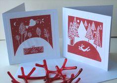 Image result for monoprint christmas cards kids make
