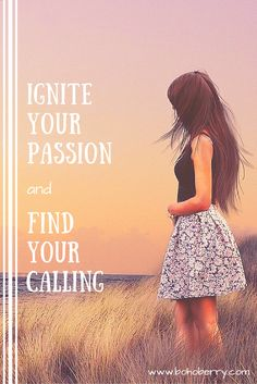 Discover how to find your passion and turn it into a way to help others. THAT, my friends, is your calling.