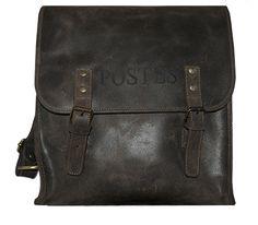 Sacoche Grande musette Backpack Bags, Leather Backpack, Large Shoulder Bags, Bradley Mountain, Messenger Bag, Coding, A4 Size, Backpacks, Wallet
