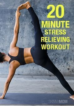 Yoga sequence to relieve stress!