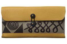 Travel Wallet for Calder Foundation, Mustard.<br>トラベルウォレット for カルダー財団、 マスタード