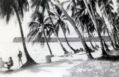 Guam Beach (historic photo) Guam Beaches, Island Life, Beautiful Islands, Mariana, Spanish, Spanish Language, Spain
