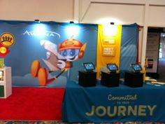 Awana booth at Children's Pastors' Conference, San Diego