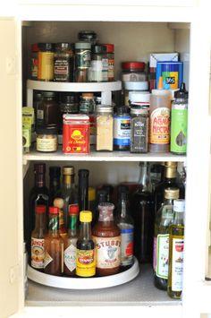 Kitchen Confidential. Spice CabinetsKitchen CupboardsKitchen PantryKitchen  ItemsSpice OrganizationOrganizing ...