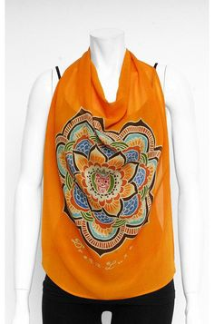 Dreamluxe silk scarves with #sacred symbols