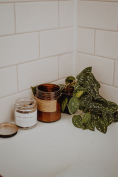 WELCOME HOME Essentials for a Perfect Bath at Home #plants #candle #pfcandle