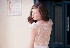 lace wedding dress | CHECK OUT MORE IDEAS AT WEDDINGPINS.NET | #bridesmaids