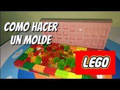 Como hacer molde Lego para gomitas - YouTube