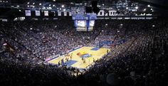Allen Fieldhouse is just on another level in terms of proximity to the court. The size of the building gives it the look of around 10,000 but it actually holds over 16,000! Nearly all of the roof and flooring is metal which (along with the fans) makes it absolutely deafening inside. They have also kept it very modern, with new scoreboards and lighting inside the seating bowl and nearly every inch of the concourses are like a museum.