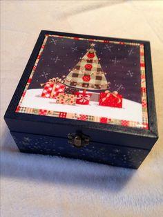 Caja con azulejo Navidad