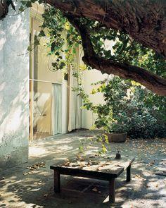 Casa Estudio Luis Barragán, acceso al jardín. Foto: On something.