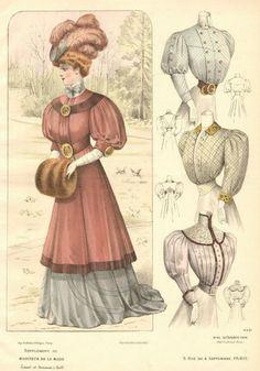 Moniteur de la Mode 1906