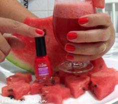 Esmalte e Fruta @FabianaFabrin. Fruits,  Nails, Nail Polish