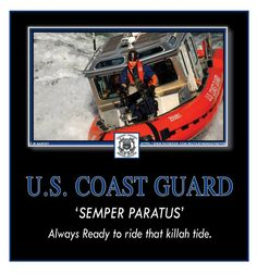 Spemper paratus Always ready to explore that coast Coast Gaurd, Us Coast Guard, Army & Navy, Us Army, Coast Guard Auxiliary, Coast Guard Cutter, Navy Air Force, Support Our Troops, Military Police