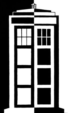 TARDIS Reversal by gallifreyireland on deviantART