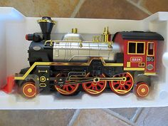 1997 Echo Train Steam Engine Battery Operated Smoke Headlight Horn Toy | eBay