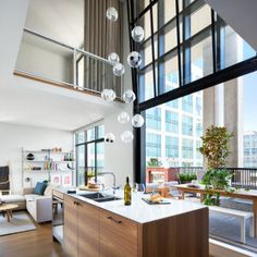 Interior design firm Falken Reynolds have recently completed the design of a this Vancouver loft. Inspired by Brooklyn's warehouse lofts, . House Design, Contemporary House Design, Loft Interiors, Interior, Decor Design, Interior Architecture Design, House Interior, Loft Style Apartments, Residential Interior