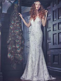 Sareh Nouri Spring 2018: Chic, Modern and Super-Romantic Dresses   TheKnot.com
