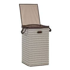 Winston Porter Edward Bamboo Cabinet Laundry Hamper & Reviews | Wayfair Laundry Hamper With Lid, Laundry Sorter, Mesh Laundry Bags, Bamboo Cabinets, Square Baskets, Simple Lines, Dorm Rooms, Space Saving, Cleaning Wipes