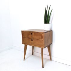 Bedside Tables – Bedside Table, Handmade Table, Bedside drawers – a unique product by VintageHouseCoruna on DaWanda