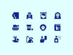 Eclectic Icons monkey fingers crossed hitchhikers guide to the galaxy sheep beer pong tank grim reaper guillotine butt symbolicons icon