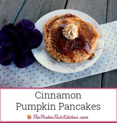 Cinnamon Pumpkin Pancakes Recipe