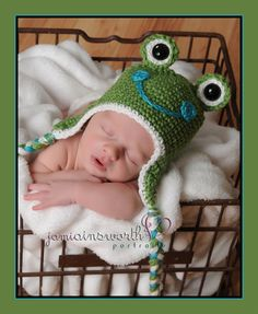 Hey, I found this really awesome Etsy listing at https://www.etsy.com/listing/91475758/frog-hat-for-the-newborn