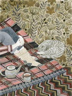 I LOVE ILLUSTRATION /// illustration inspiration: Friday inspiration! Yuliya