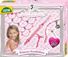 Princess Scoubidous zum Basteln für kleine Prinzessinnen. By Maja Prinzessin von Hohenzollern/Lena.http://www.mytoys.de/catalog/search?query=+prinzessin+von+hohenzollern&button=&productsPerPage=40&sugg=false&suggBox=false