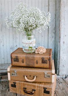 Ich packe meinen Koffer… 12 TOLLE Ideen zum Basteln mit alten Koffern! - DIY Bastelideen