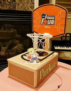 Parker's Basketball Valentine Box