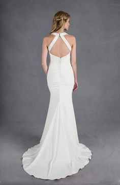 Awesome Bridal Gowns Designer Wedding Dress Gallery: Nicole Miller Check more at http://24shopme.cf/fashion/bridal-gowns-designer-wedding-dress-gallery-nicole-miller/
