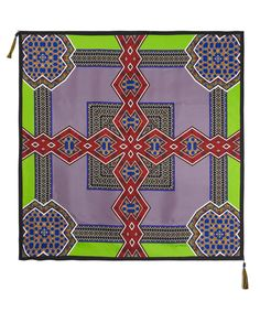 Green Geometric Print Silk Scarf, Etro. Shop the latest silk scarves from the Etro collection online at Liberty.co.uk