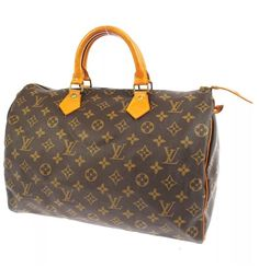Louis Vuitton Monogram Sdy 35 W Lv Lock Key Very Good Condition Ebay
